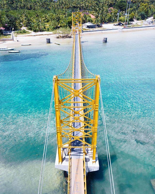 Yellow bridge . . . #traveling #surfing #surfingphotography #surfers #surf #traveldeeper #canggu #surfermagazine #picoftheday #dronepic #mysurfgirllife #morningsurf #surfinglife #islandlife #balilivin #longboard #tropical #goldenhour #surfphotography #natgeotravel ##droneoftheday #bali #nature #magicseaweed #exploretheworld #explorebali #traveling #naturephotography ##dronesdaily #aerialphotography