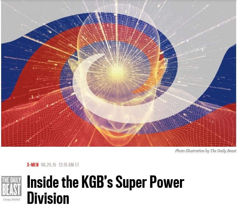 KGB Psychics