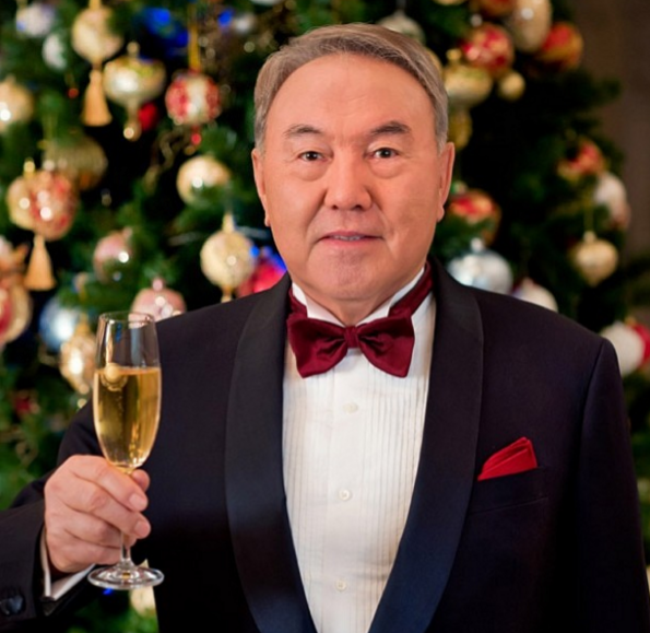 "As one former Clinton official said, ""I can't think of a leader in the free world as notoriously corrupt as Nazarbayev."" (Photo courtesy Nazarbayev's Instagram, which I continue to highly recommend.)"