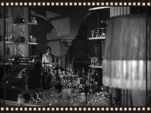 Bogie as booze master, via BoozeMovies.com