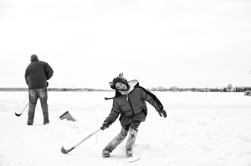 Winter Road Hockey