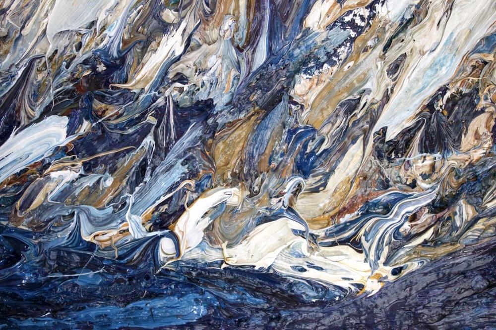 Detail: Aoraki / Mount Cook