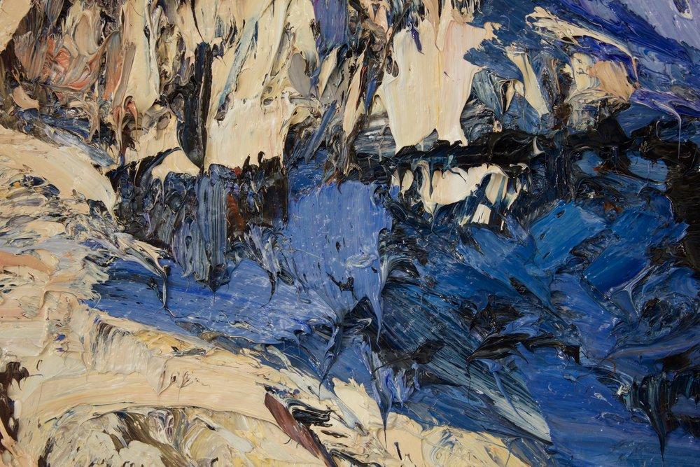 Detail: Darren Mountains, Fiordland