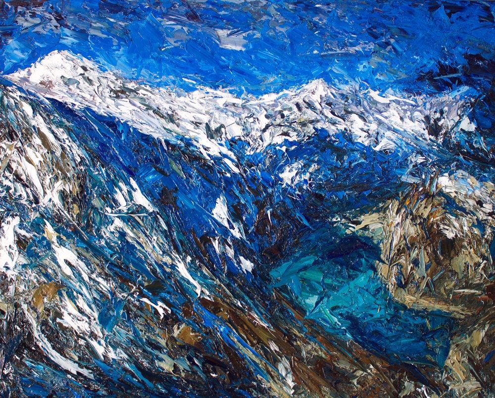 Douglas Glacier, Mt Sefton