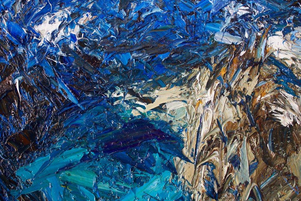 Detail: Douglas Glacier, Mt Sefton