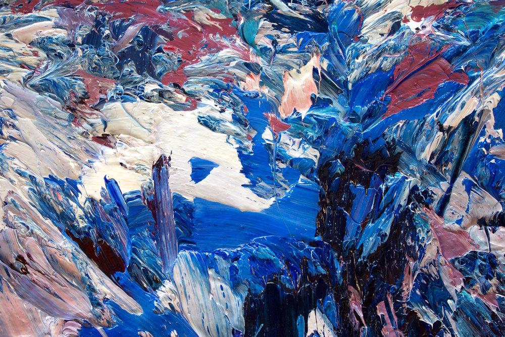 Detail: Fox Glacier