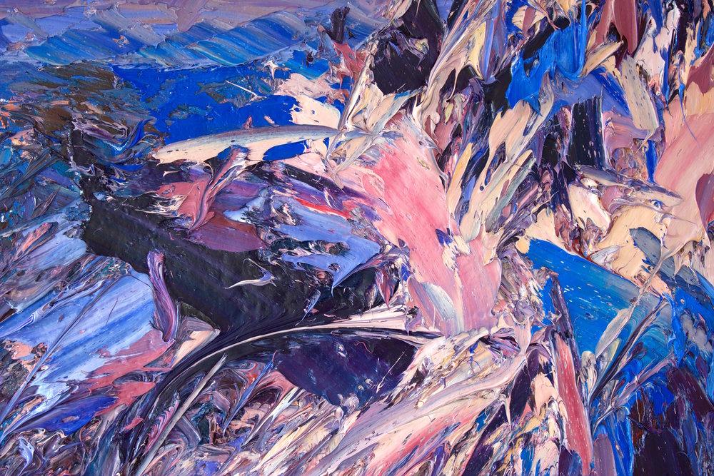 Detail: Sunset, Aoraki/Mt Cook