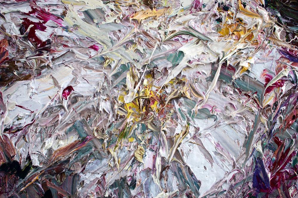 Detail: Climbing Rose, End of Flowering