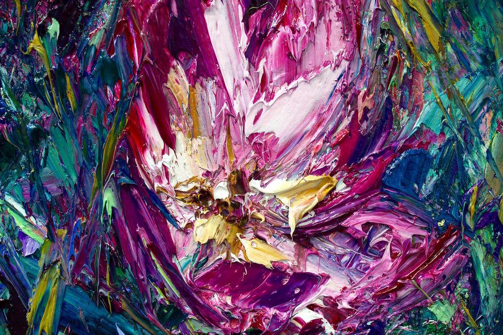 Detail: Winter Rose