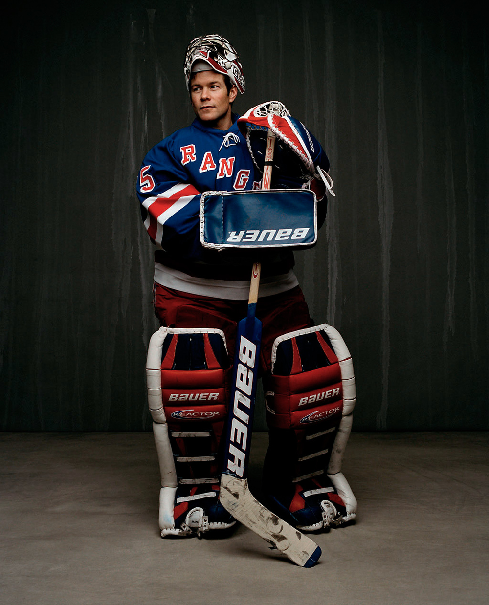 Goaltender Mike Richter 2000