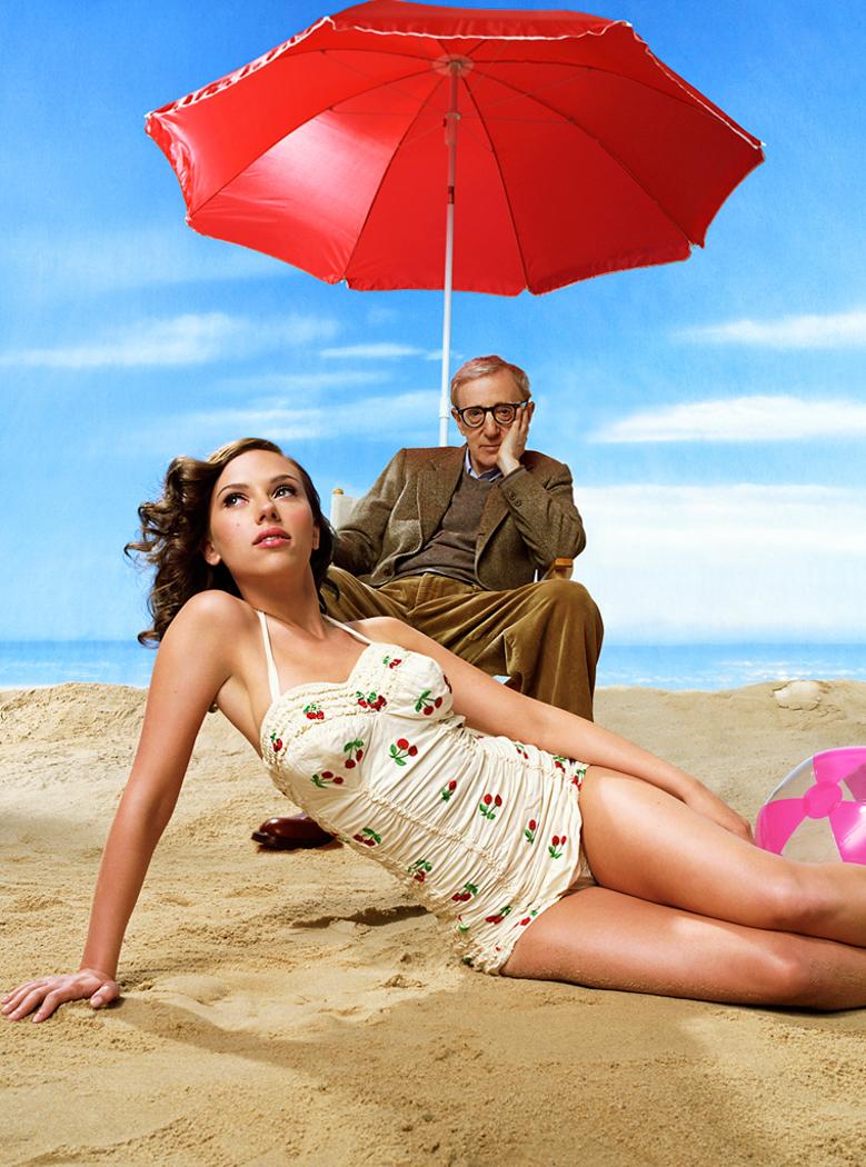 Scarlett Johannson & Woody Allen