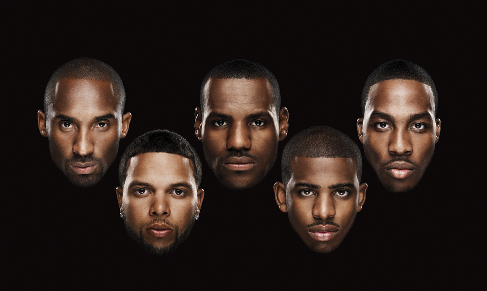 Kobe Bryant, Deron Williams, LeBron James, Chris Paul, Dwight Howard