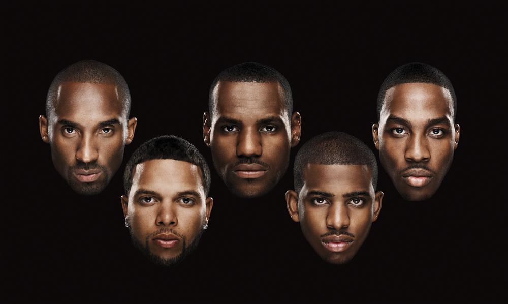 Kobe Bryant, Deron Williams, LeBron James, Chris Paul, Dwight Howard