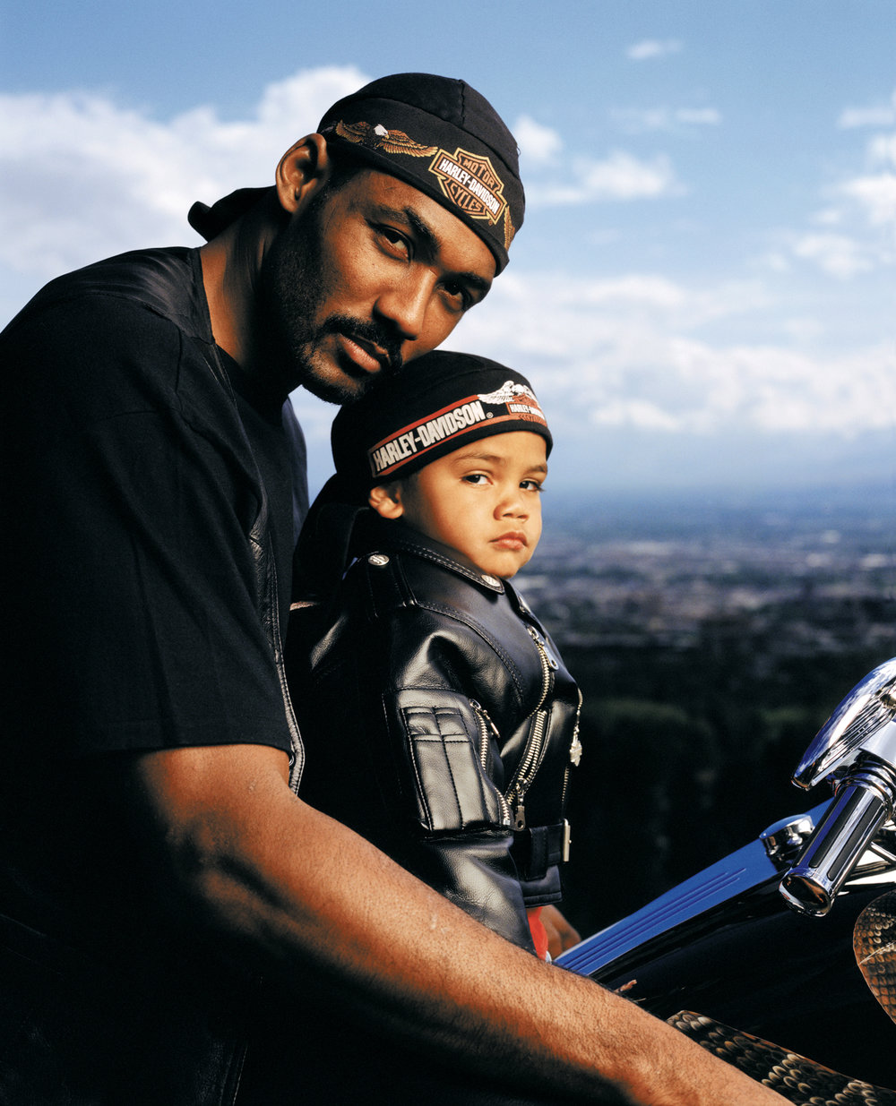 Karl Malone and Son