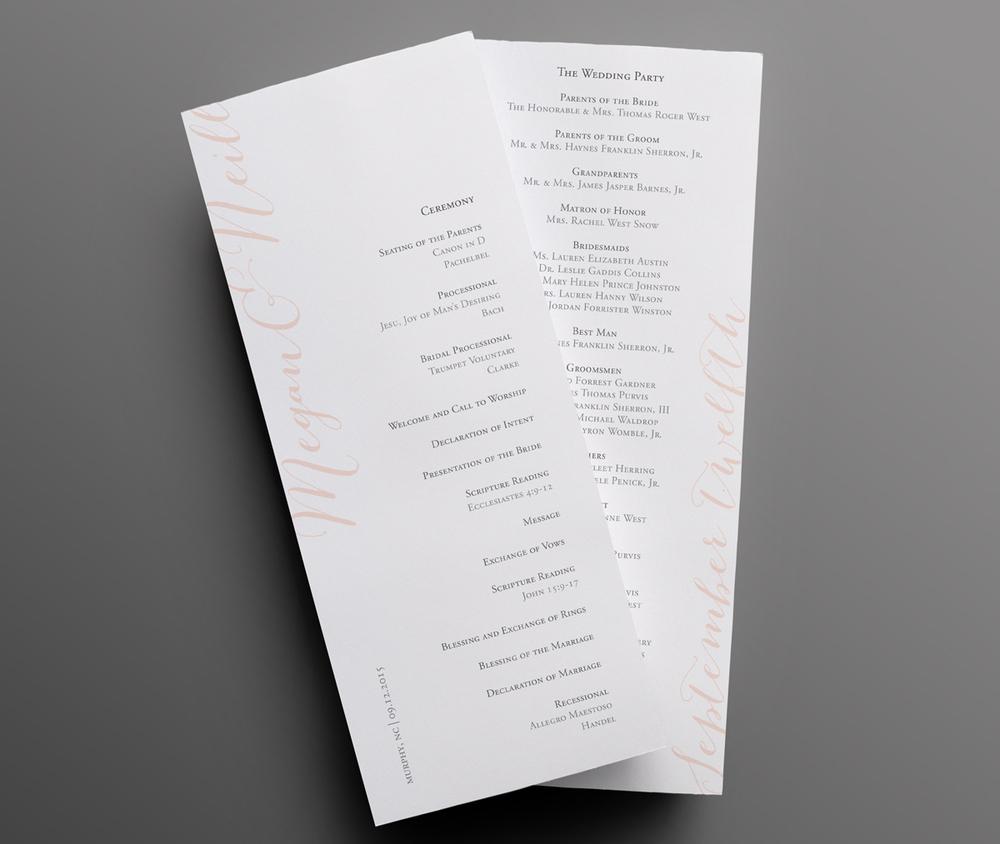 Wedding-Program-Long