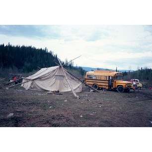 NAHANNI REFORESATION - Nahanni Arntzen is creating a book of her fathers' images from his treeplanting operation in the 70's and 80's.