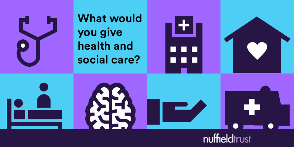 What would you give health and social care?