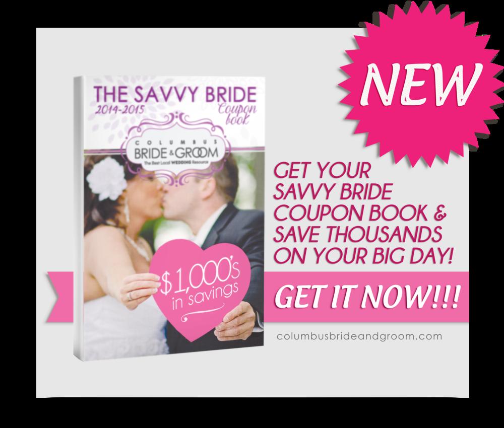 Savvy Bride Coupon Book Columbus Ohio