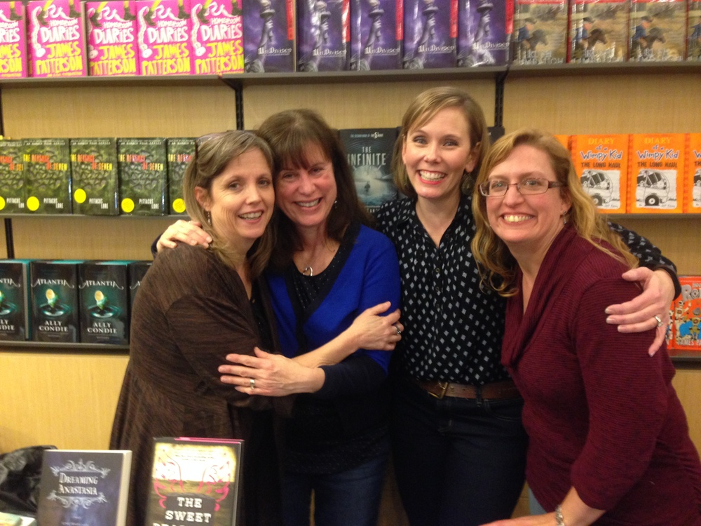Me, Becky wallace, joy preble, and mary lindsey in houston!