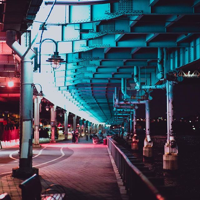 Under the Bridge at Night _—_
