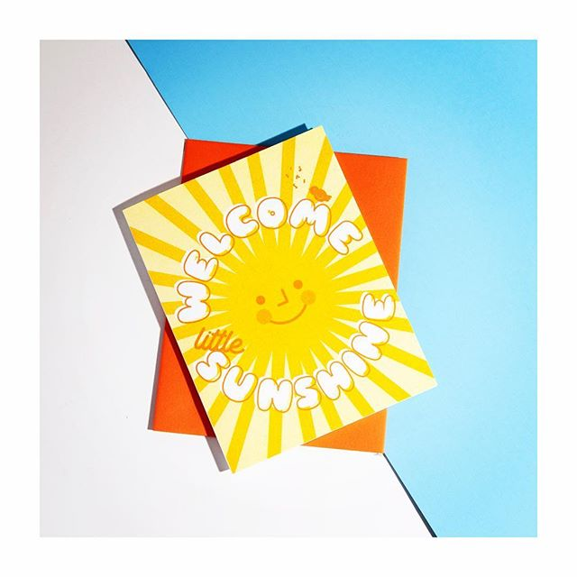 The sun is here people! So get out and say hi. Stop by 110 Bloor Street West today at @jcrew . We will be selling our posters and cards- @jcrew will be offering some great sales in store so you can get started on your spring outfits. See you 👋 . . . #risograph #risoprint #risocards #jcrewcanada #jcrew #greetingcards #greetingcarddesign #baby #slyeye #slyeyeca #videpress #madeincanada #madeintoronto