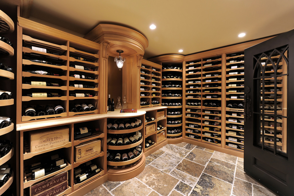 Custom wine cellars and bars by lisa weiss 703 992 wine for Cost to build wine cellar