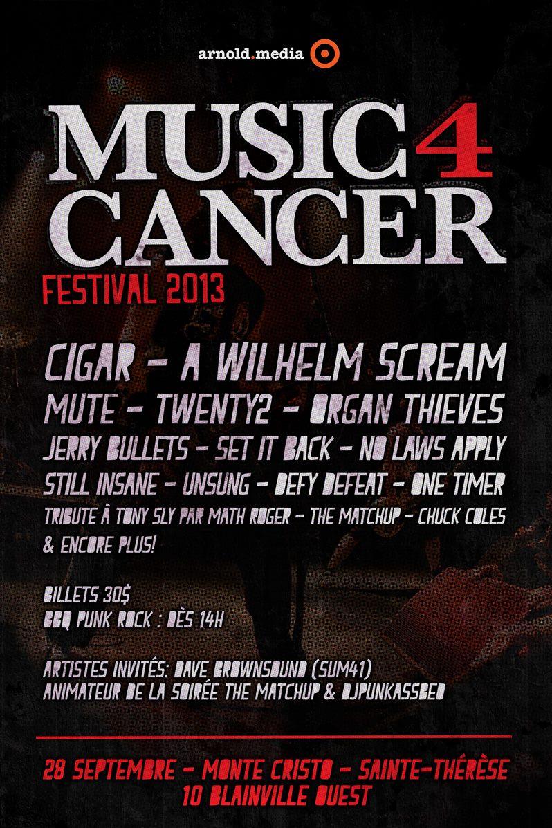 Évènements — Music 4 Cancer