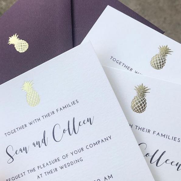 folding-bones-press-gold-foil-invitations