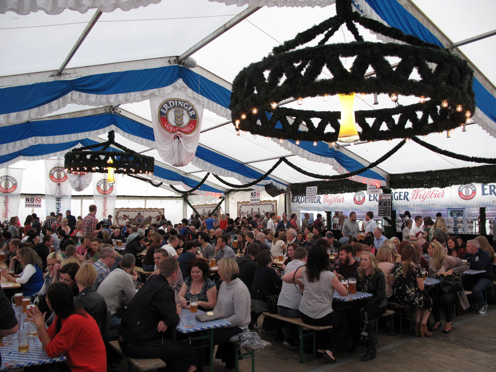 It was a packed day at the IFSC as crowds gathered to take in the Teutonic spirit of Oktoberfest 2014