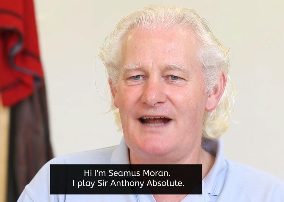 Seamus Moran Deirdre Monaghan Interview