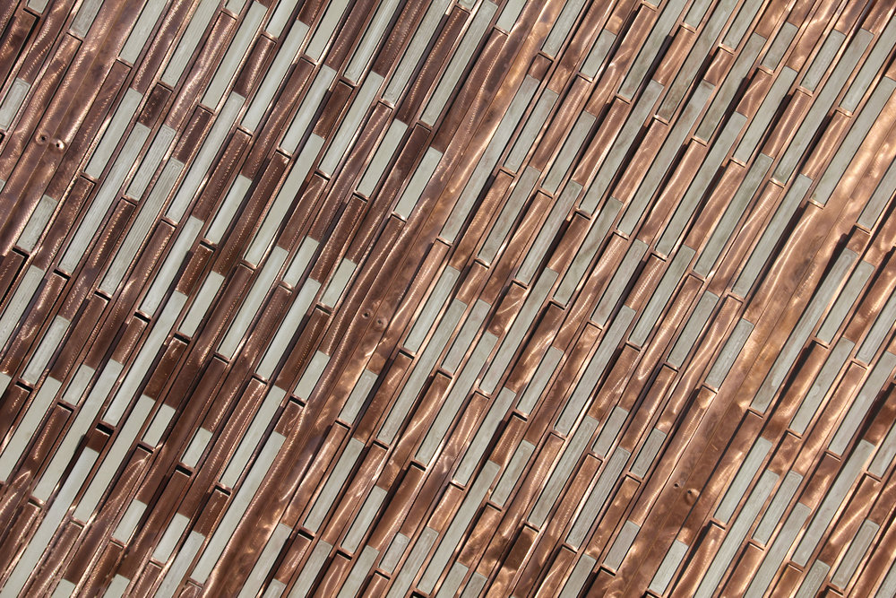 Sense Envelope III   A responsive building envelope driven by thermal changes in the microclimate. Developed, designed and build for the Danish Architecture Center, based on developed material composites, design models and fabrication models. See short film of the project making at the project page.