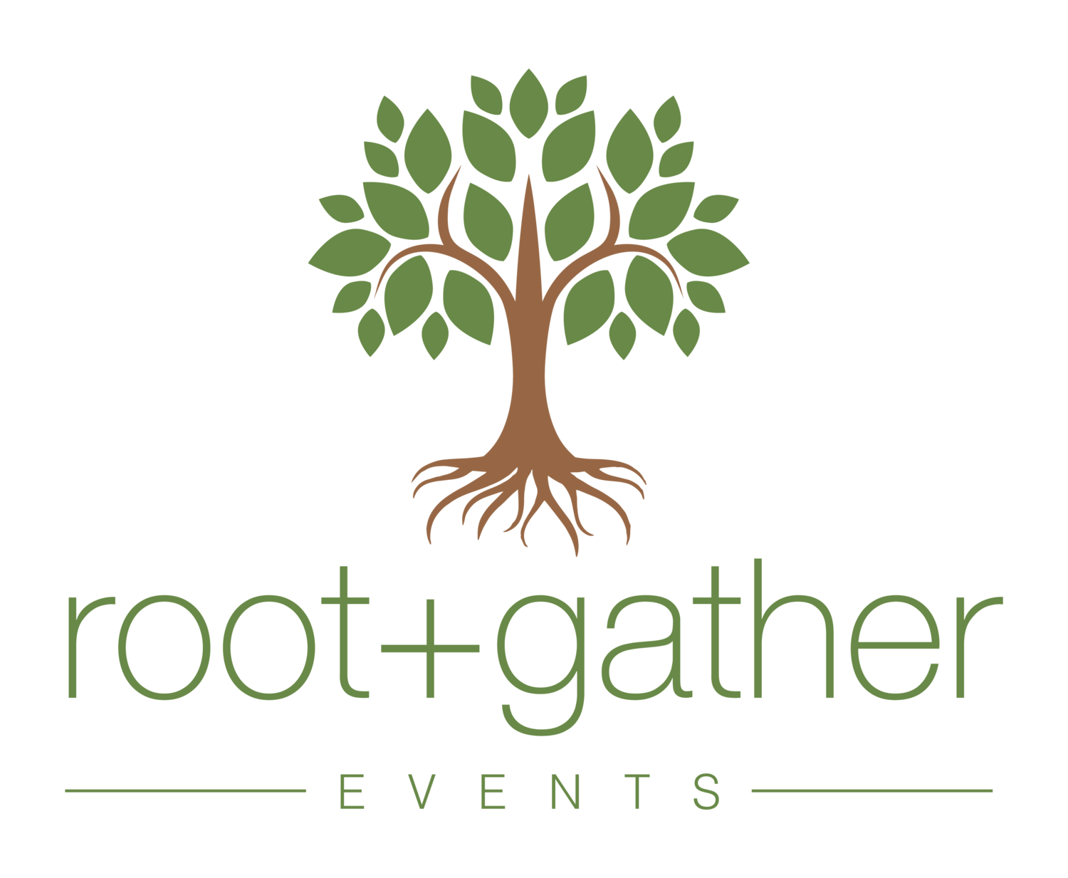 root + gather events