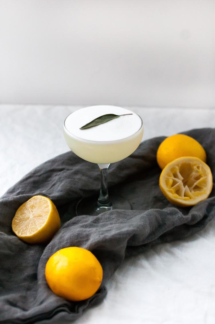 Meyer Lemon+ Sage Sour -