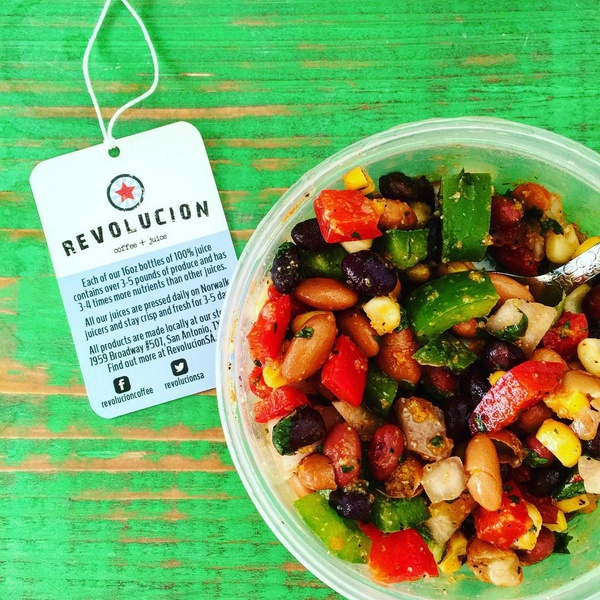 revolucion three bean salad