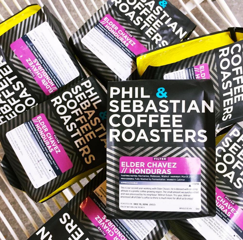 Revolucion Phil & Sebastian coffee