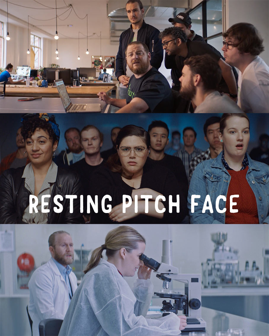 RESTING PITCH FACE - WEBSERIESDirectorUsing the old 'gender card' are we?Starring Nakkiah Lui, Bridie Connell & Emily Havea