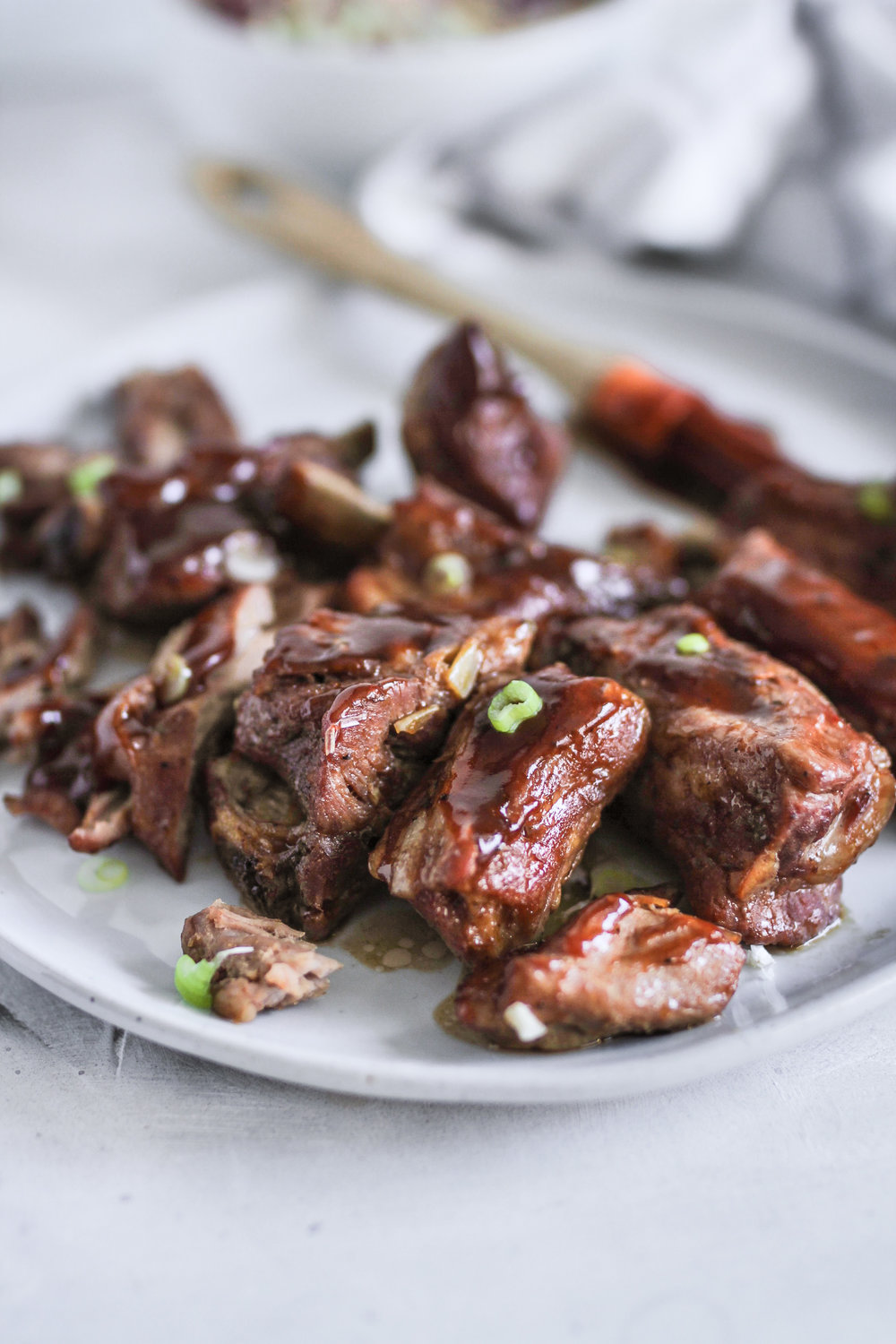 Recipe of the day:  Easy BBQ Oven Cooked Fall Off the Bone Short Ribs  -