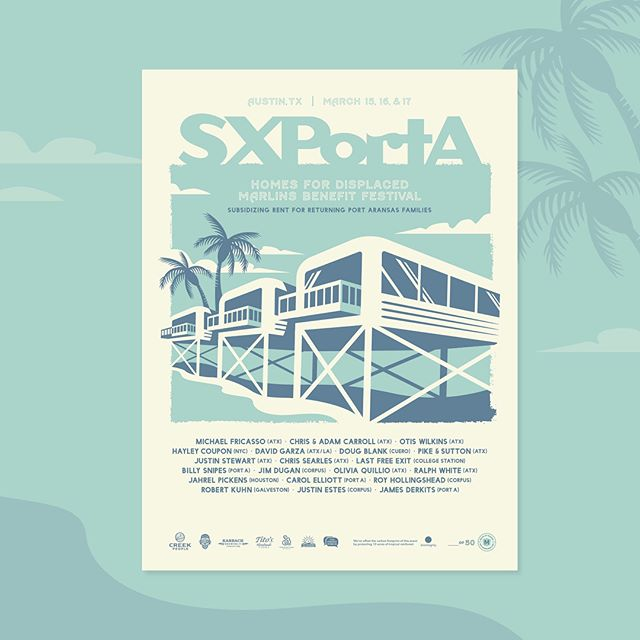 #SXPortA kicks off tomorrow at 5PM! The event is free with donations encouraged. RSVP with the link in bio 💃