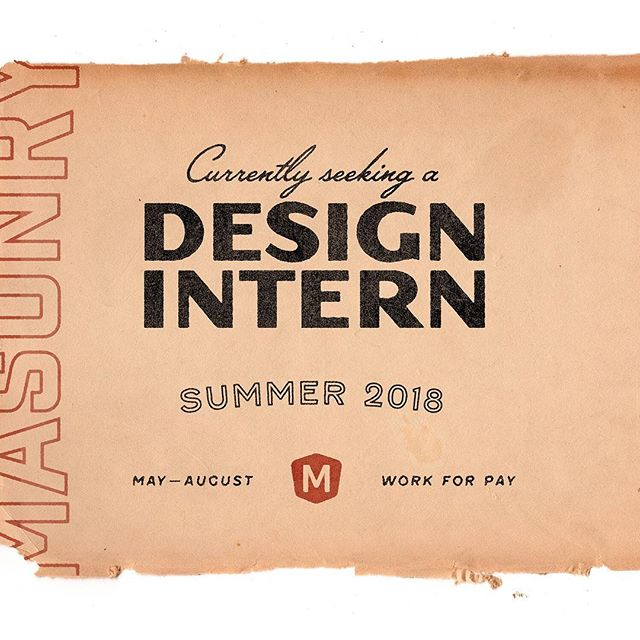 Calling all students studying design! We're looking for a #graphicdesign intern for the summer. Check it out and apply 👉 https://bit.ly/2rNHNdO
