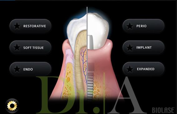 Múltiples utilidades en casi todas las áreas de la odontología.