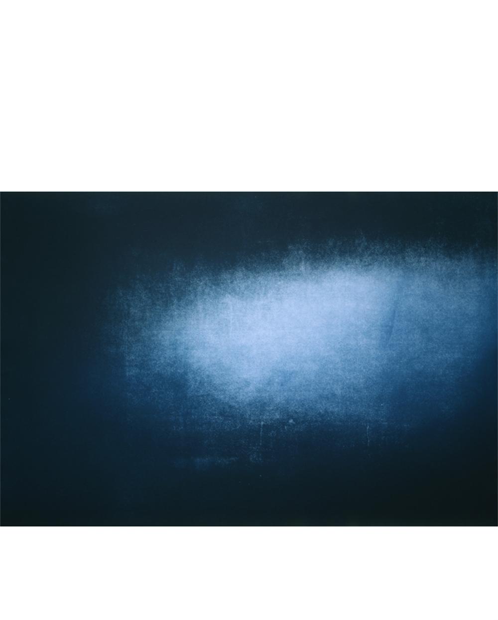 """Riding the Line (001) Color aquatint 42"""" x 35"""" 2006"""