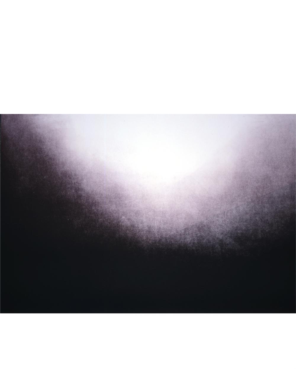 """Riding the Line (002) Color aquatint 42"""" x 35"""" 2006"""