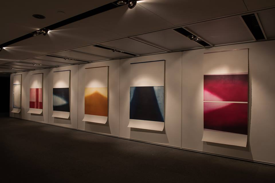Fields of Abstraction installation view