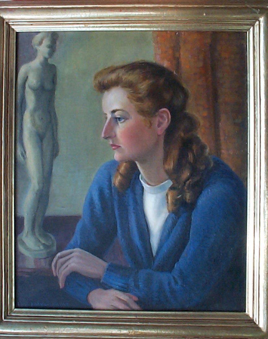 Walter Sherwood Oil Painting
