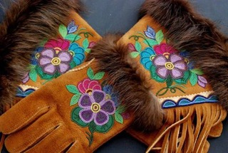 Beadwork by Indigenous master artist Judy Lafferty