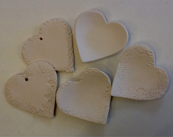 Chocolate and Handmade Hearts
