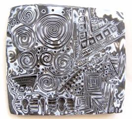 Mokume Gane in Polymer