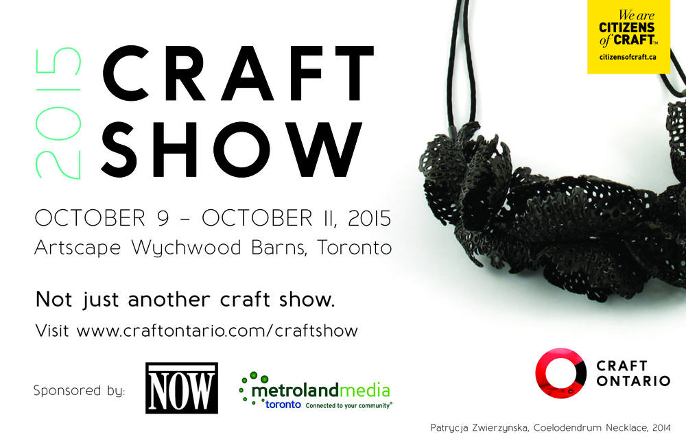 Craft Ontario Craft Show 2015