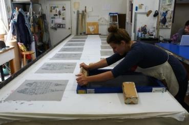 Polychromatic Screen Printing