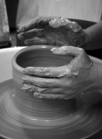 Try your hand at the potters wheel - with Suzi Cameron